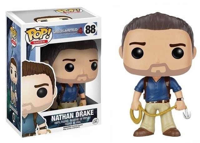 FUNKO POP - UNCHARTED 4 - NATHAM DRAKE