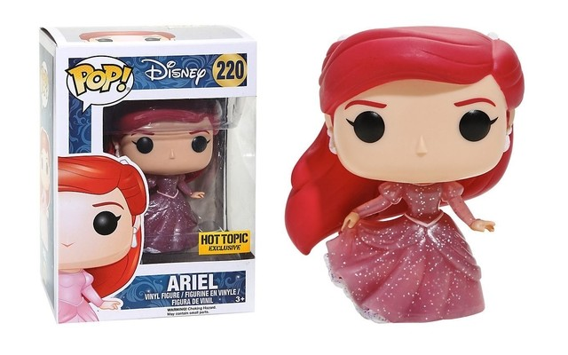 POP! VINYL - PEQUENA SEREIA - ARIEL TRANSLUCIDA - HOT TOPIC