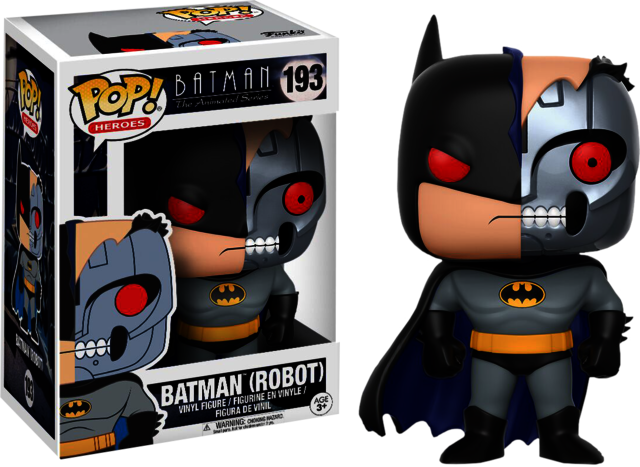 POP! VINYL - BATMAN ANIMATED SERIES - BATMAN (ROBOT)