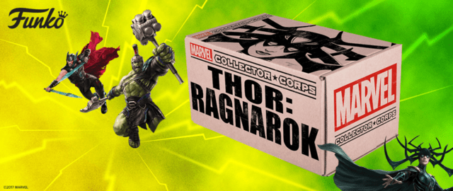 BOX COLLECTOR CORPS - THOR RAGNAROK