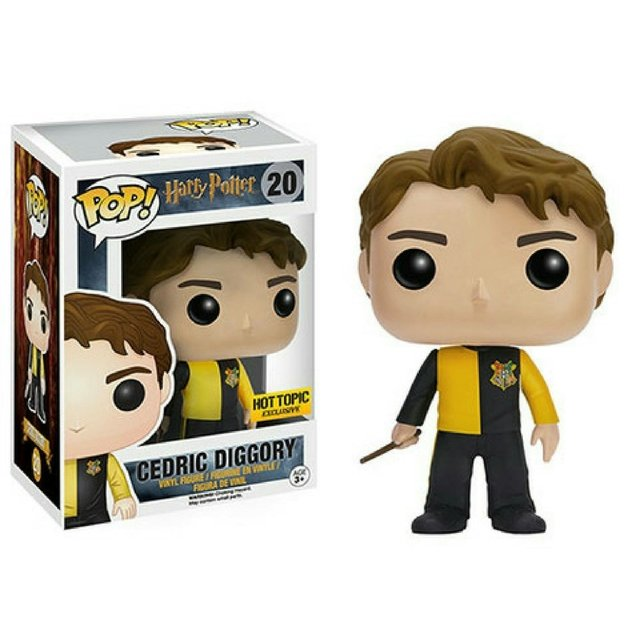 FUNKO POP - HARRY POTTER - CEDRIC DIGGORY (EXC HOT TOPIC)