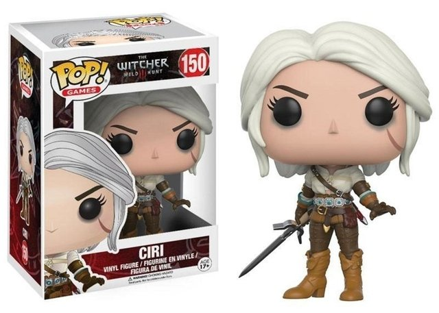 POP! VINYL - THE WITCHER - CIRI