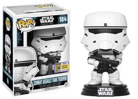 POP! VINYL - STAR WARS - COMBAT ASSAULT TANK TROOPER - EXC SDCC 2017