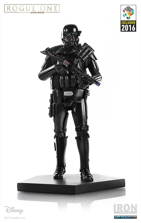 DEATH TROOPER - IRON STUDIOS CCXP 2016 - EXCLUSIVO