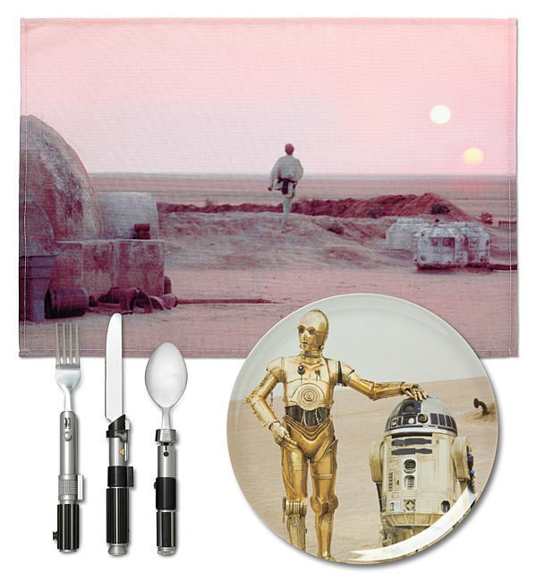 KIT PRATOS - STAR WARS - TATOOINE - comprar online