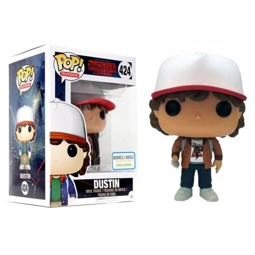 POP! VINYL - STRANGER THINGS - DUSTIN  - BARNES & NOBLE