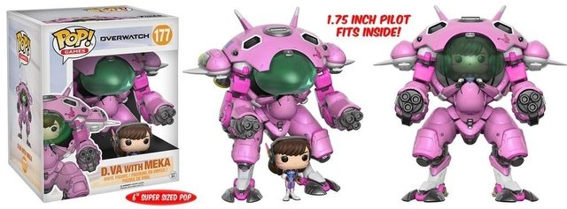 POP! VINYL - OVERWATCH - D.VA