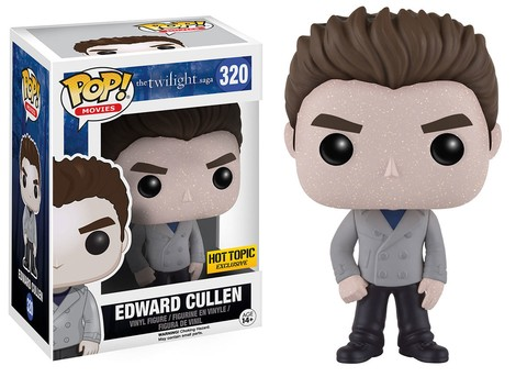 POP! VINYL - CREPUSCULO - EDWARD CULLEN (HOT TOPIC)