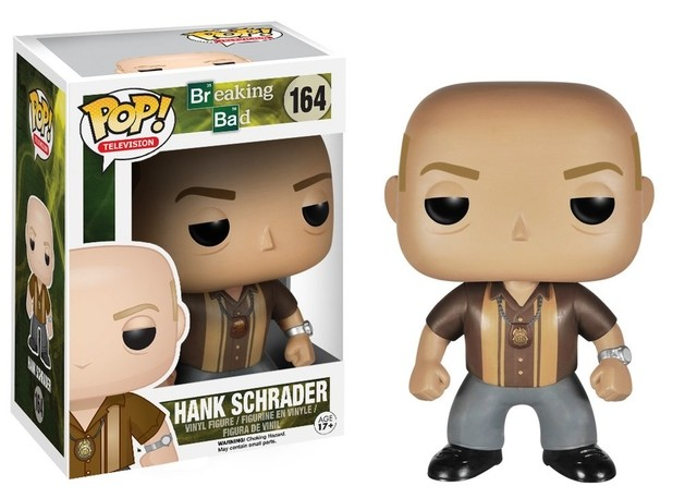 POP! VINYL - BREAKING BAD - HANK SCHRADER