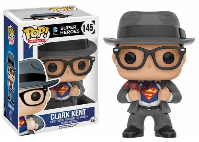 POP! VINYL - HEROS - CLARK KENT - HOT TOPIC