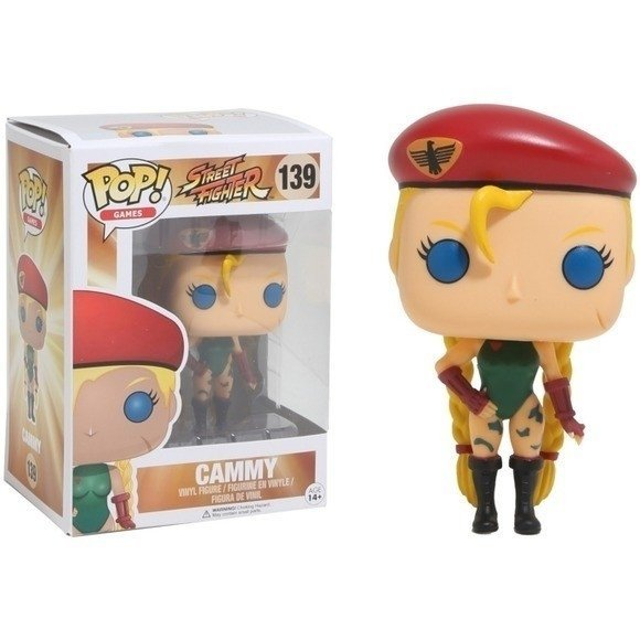 POP! VINYL - STREET FIGHTER - CAMMY