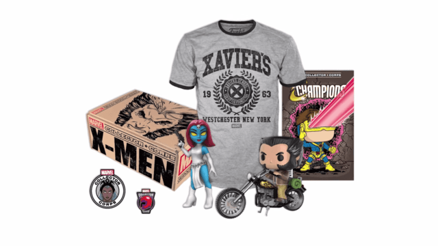 POP! BOX - COLLECTOR CORPS - X MEN (SEM A CAIXA)