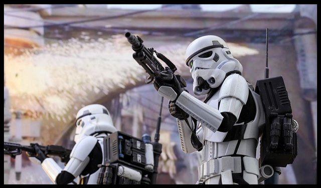 HOT TOYS - SIDESHOW - STORM TROOPER - JEDHA PATROL - 2beGeek