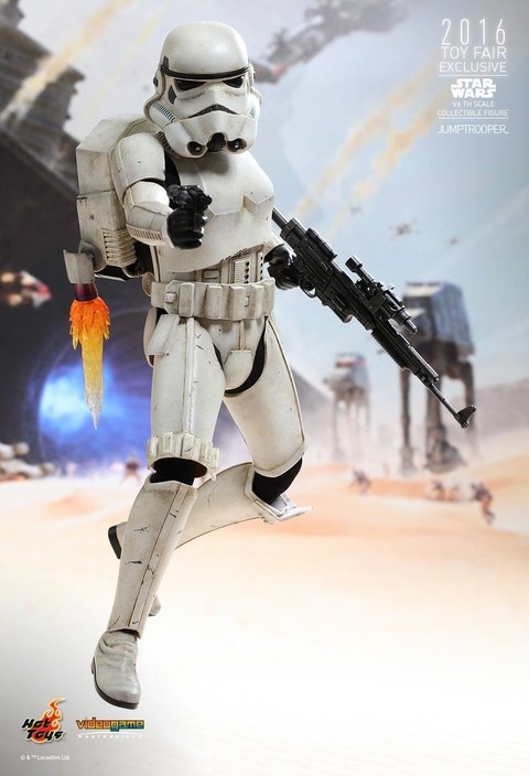 HOT TOYS - SIDESHOW - STORM TROOPER - JUMPTROOPER