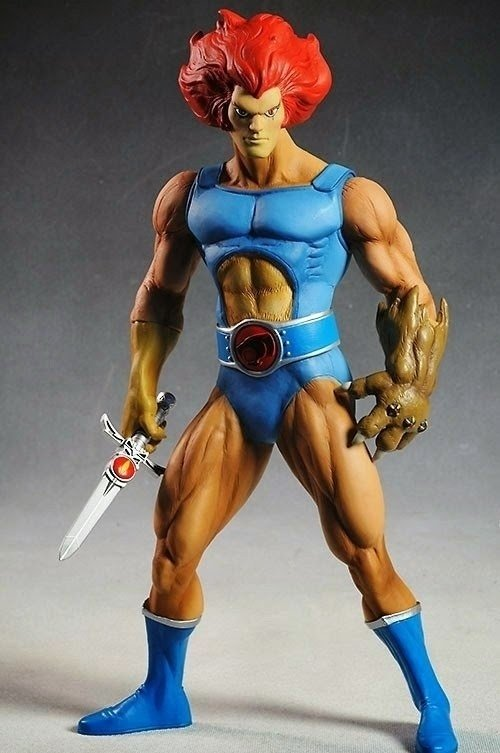Mega Scale - Thundercats - Lion-O na internet