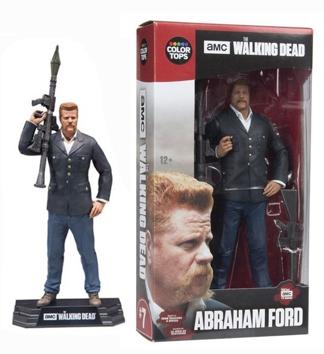 McFarlane Toys - The Walking Dead - Red Wave - Abraham Ford