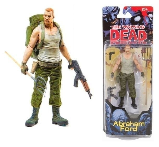 McFarlane Toys - The Walking Dead - Abraham Ford - Series 4