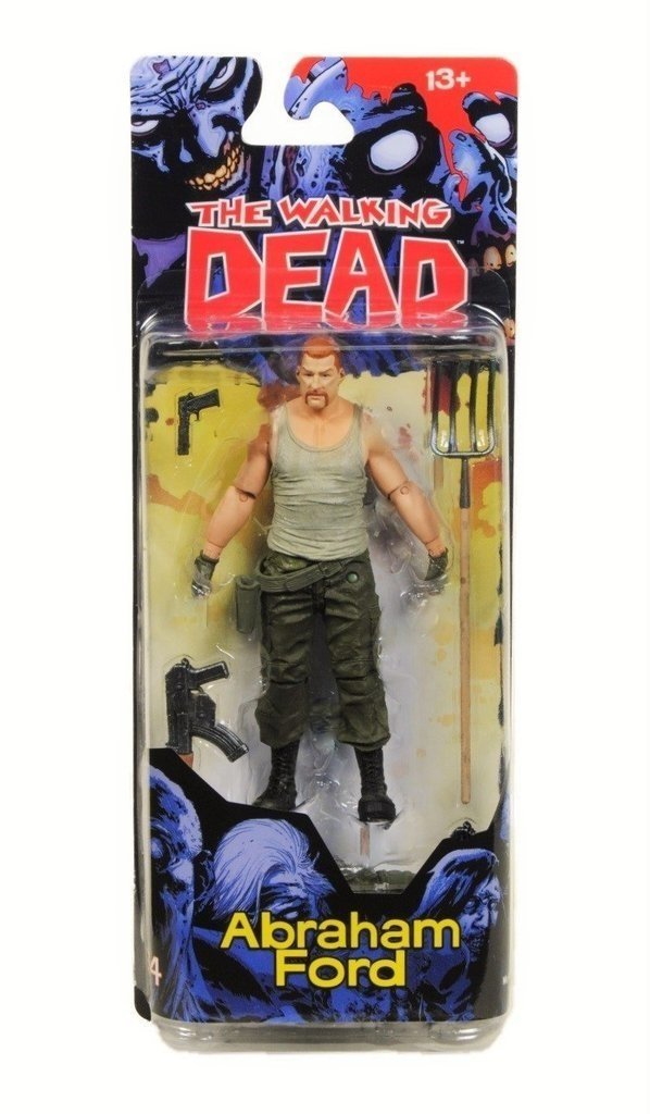 McFarlane Toys - The Walking Dead - Abraham Ford - Series 4 - comprar online