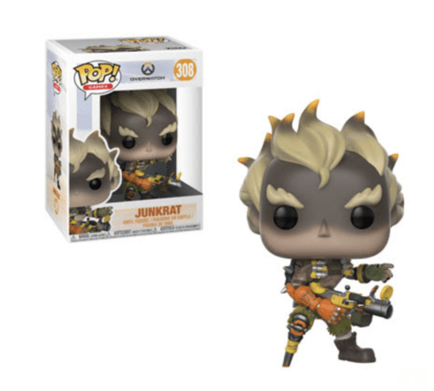 FUNKO -  POP OVERWATCH: JUNKRAT