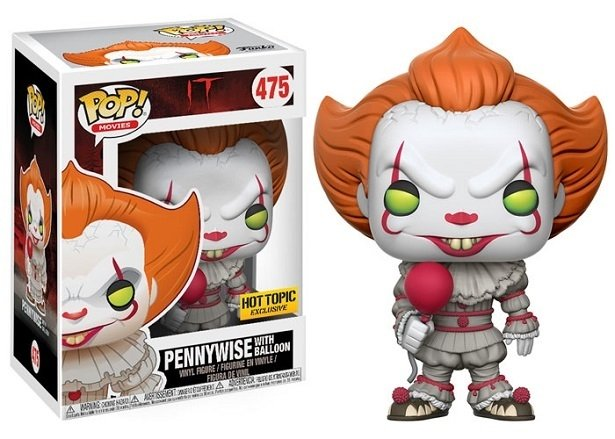 FUNKO POP - IT - PENNYWISE (EXC HOT TOPIC)
