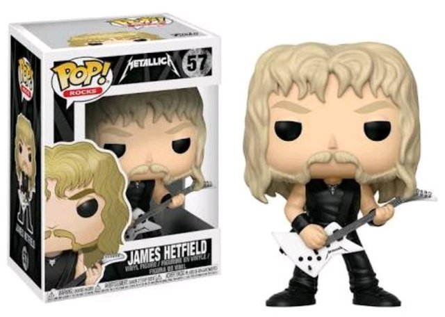 POP! VINYL - ROCKS - JAMES HETFIELD