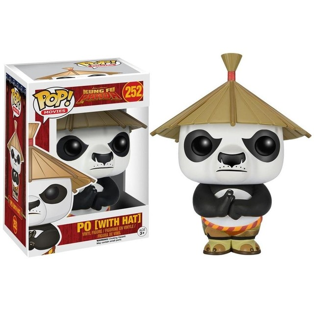 POP! VINYL - KUNG FU PANDA - PO [WITH HAT]