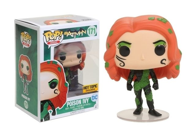 POP! VINYL - BATMAN - POISON IVY - HOT TOPIC