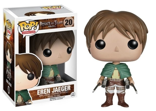 POP! VINYL - ATTACK ON TITAN - EREN JAEGER