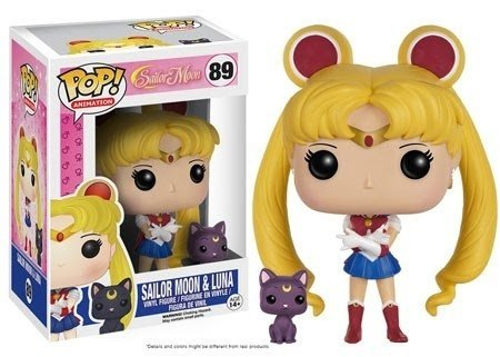 POP! VINYL - SAILOR MOON - SAILOR MOON WITH LUNA