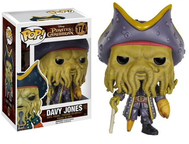 POP! VINYL - PIRATAS DO CARIBE - DAVY JONES - comprar online