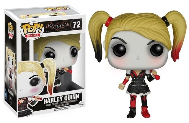 POP! VINYL - BATMAN ARKHAM KNIGHT- HARLEY QUINN