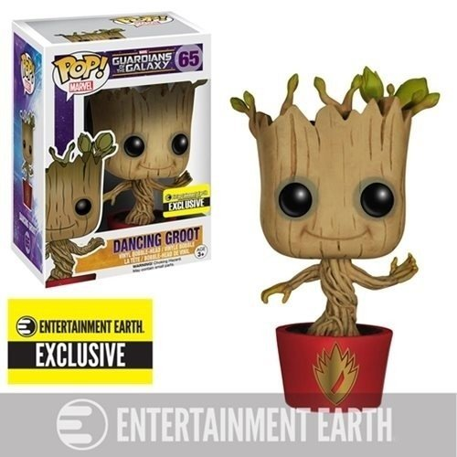 FUNKO POP - GUARDIÕES DA GALAXIA - HOLLIDAY DANCING GROOT - ENTERTAINMENT EARTH