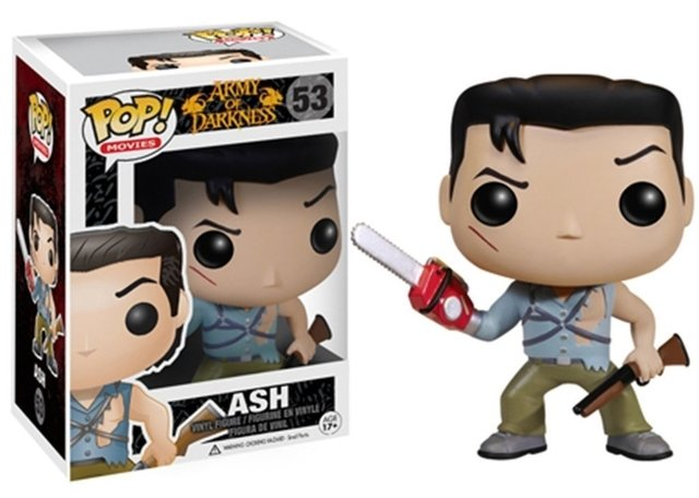POP! VINYL - MORTE DO DEMONIO - ASH