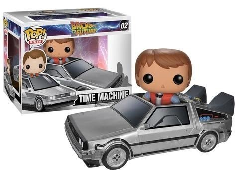 POP! RIDERS - DE VOLTA PARA O FUTURO - TIME MACHINE WITH MARTY MCFLY