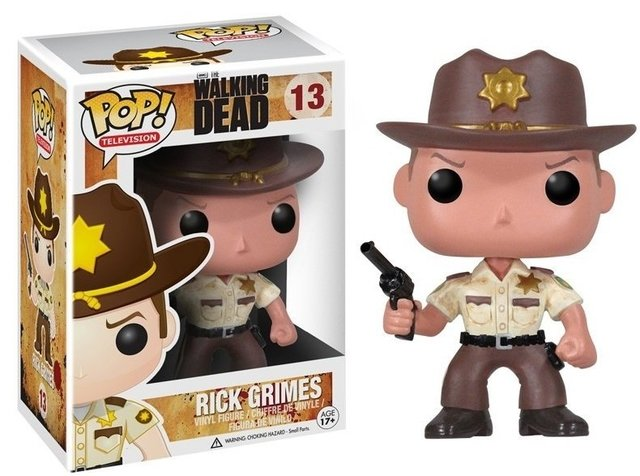 POP! VINYL - THE WALKING DEAD - RICK GRIMES - comprar online