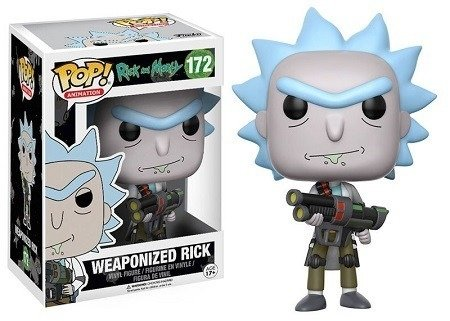 FUNKO - POP RICK AND MORTY: RICK WEAPONIZED  #172