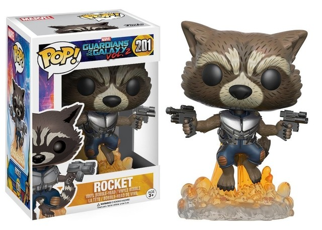 POP! VINYL - GUARDIÕES DA GALAXIA - ROCKET