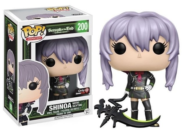 POP! VINYL - SERAPH IN THE END - SHINOA HIRAGI - GAME STOP