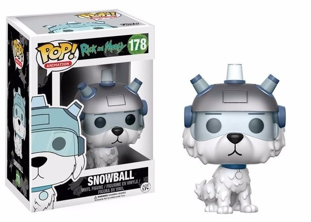 FUNKO - POP RICK AND MORTY: SNOWBALL #178