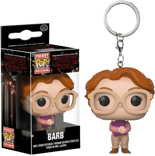 POP! KEYCHAIN - STRANGER THINGS - BARB