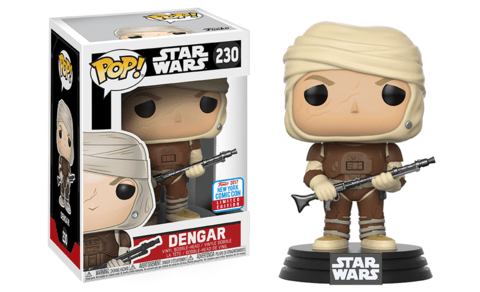 FUNKO POP - STAR WARS - DENGAR - EXC NYCC 2017