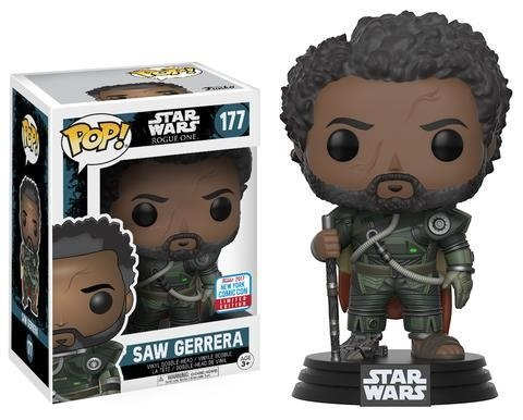 POP! VINYL - STAR WARS - SAW GUERRERA - EXC NYCC 2017