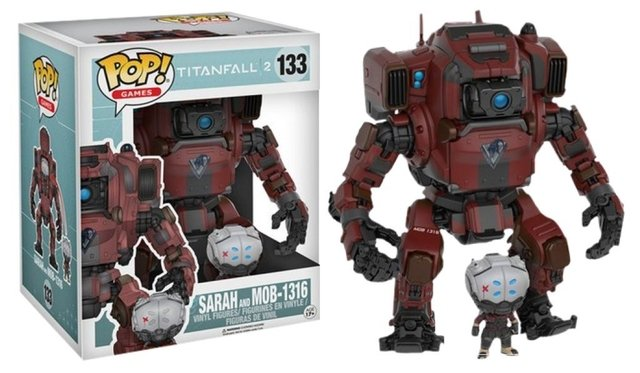 POP! VINYL - TITANFALL - SARAH AND MOB-1316