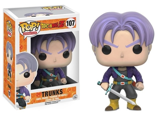 FUNKO - POP DRAGON BALL: TRUNKS #107