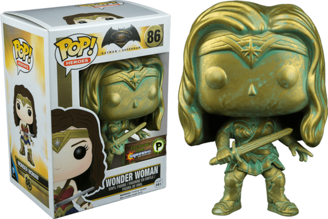 POP! VINYL - BATMAN VS SUPERMAN - WONDER WOMAN (PLATINE) - SUPERNOVA
