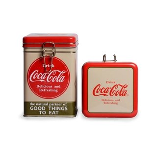 Lata lock top Rectangular Coca-Cola