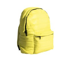 Mochila Big Pocket Nylon Fluor Yellow
