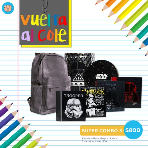 SUPER COMBO 3 - STAR WARS