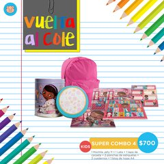 SUPER COMBO 4 KIDS - DOCTORA JUGUETES