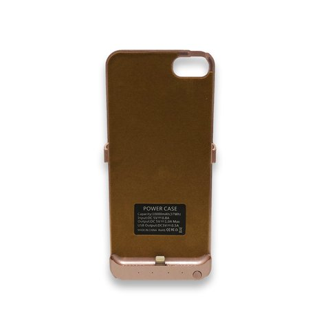 Funda Cargador Iphone 6 Plus y 8 Plus - Rosa + Nano Coating Liquid
